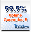 99.9% Network Uptime Guarantee !!