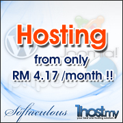 Web Hosting only from RM4.17/month!